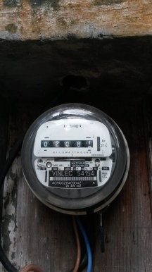 Electricity meter in St. Vincent