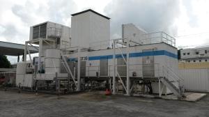 Diesel plant in Barbados