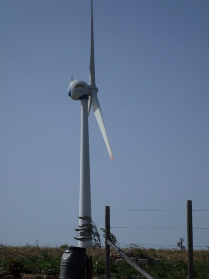 Wind turbine in Jamaica