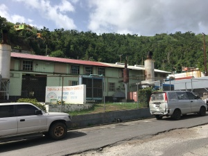 Diesel power station in Dominica