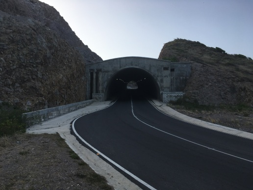Tunnel in St. Kitts