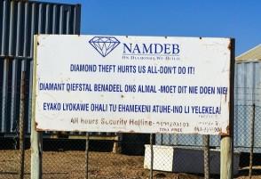 Diamond Theft Namibia