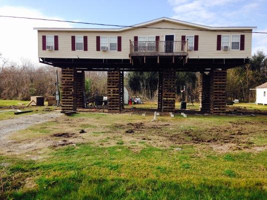 Home elevation_Coastal Louisiana