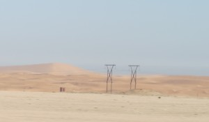 Namibia Uranium Mine Power Line